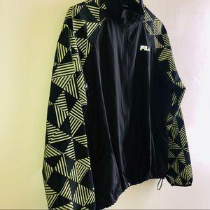 Fila Glow Run Zip Neck Lightweight Packable Jacket